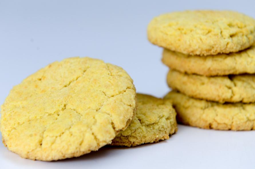 Кукурузное печенье без глютена