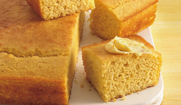Кукурузный хлеб без глютена