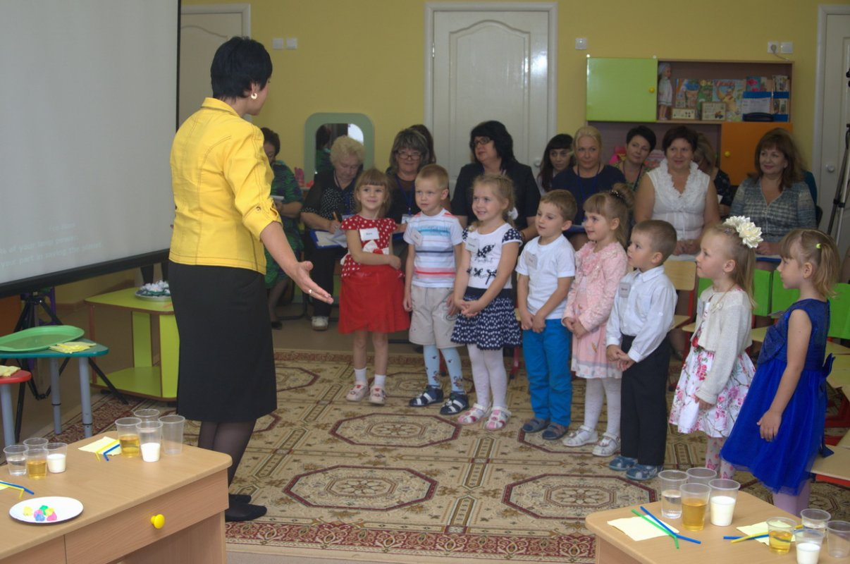 Образование детский сад