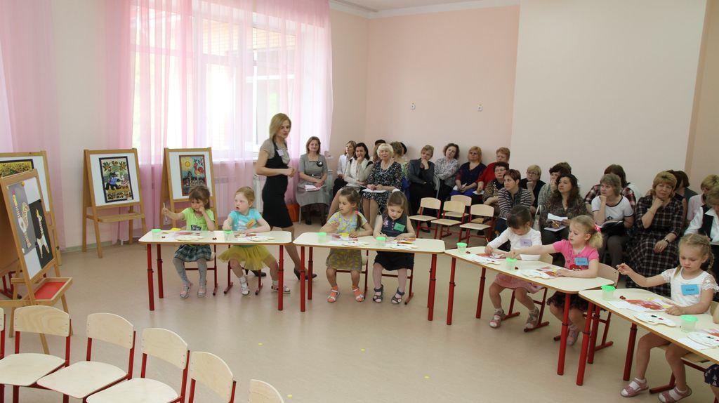 Образование в дошкольных садиках