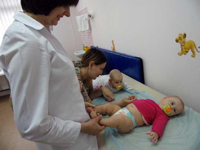 Иглотерапия малыша