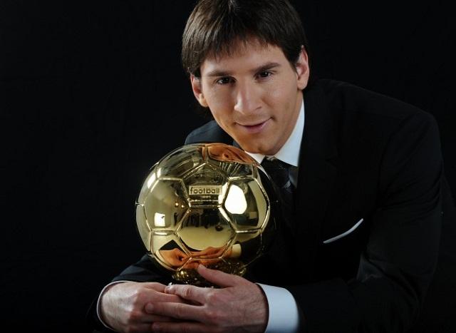 Фото вручение золотого мяча