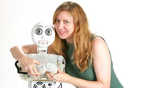 Доктор Maja Mataric, основатель Центра робототехники и автономии USC