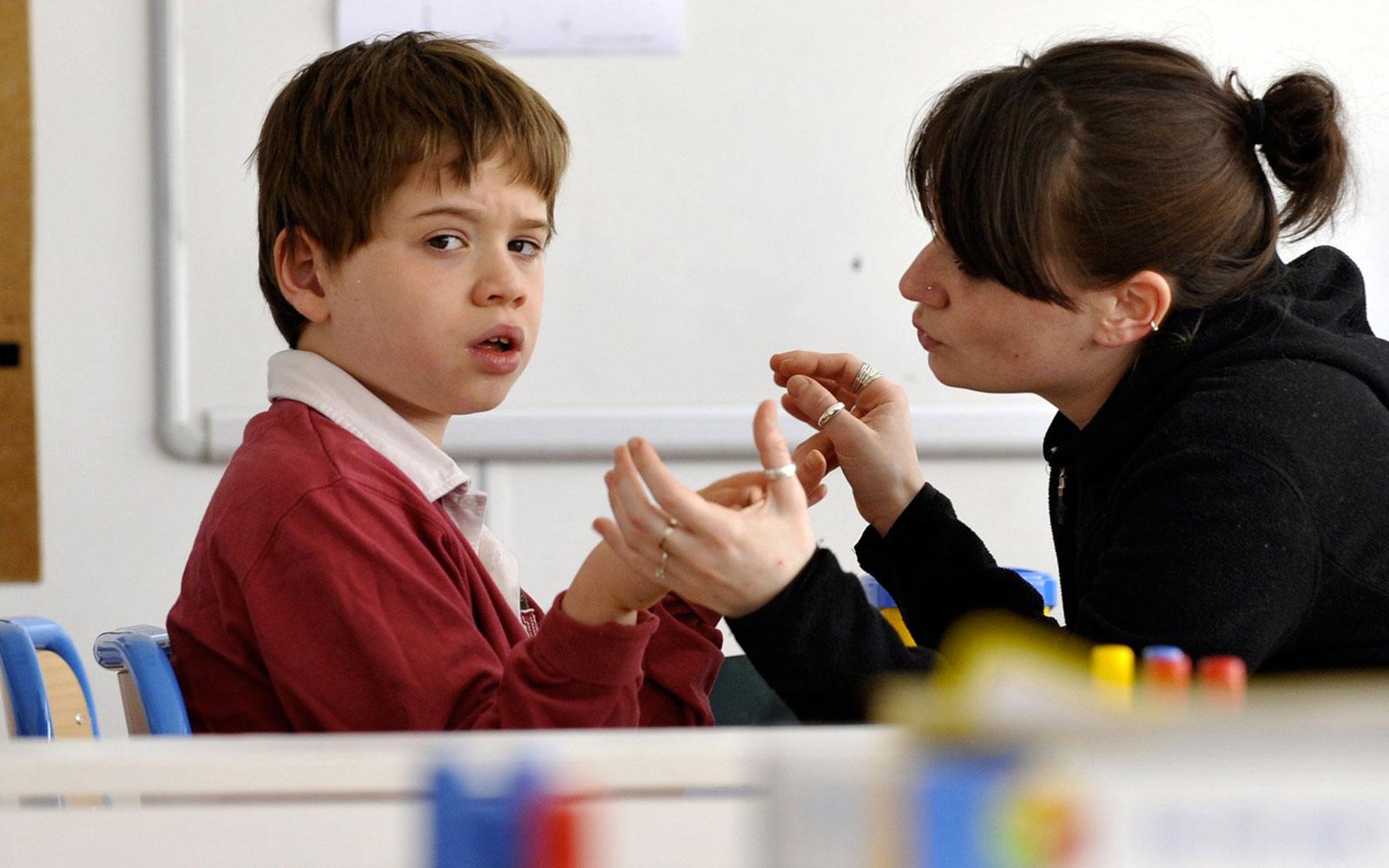 Обучение детей аутистов