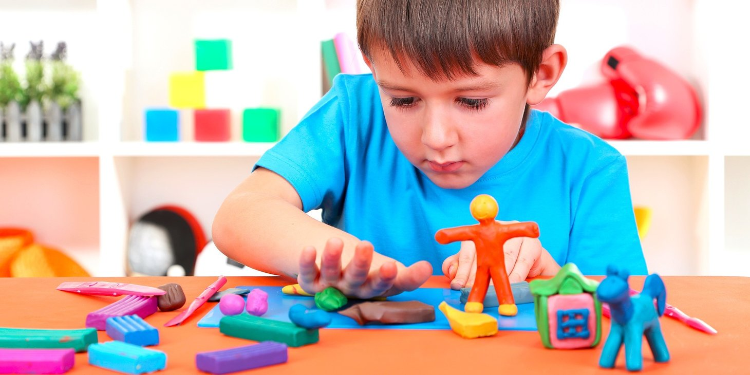 Ощущение пластилина ладонями дети ЗПР